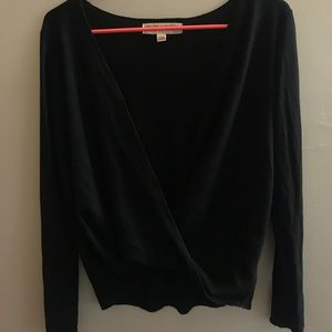 Urban Outfitters Surplice Long Sleeve